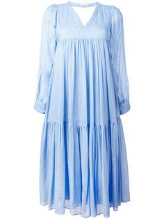 платье миди с цветочным принтом Masscob