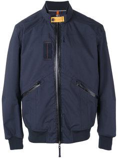 куртка-бомбер  с контрастной заплаткой Parajumpers