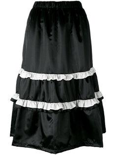 юбка миди с оборкой Comme Des Garçons Girl