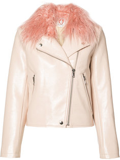 Blush Taffy biker jacket Shrimps