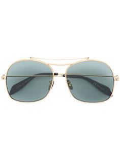 солнцезащитные очки-авиаторы Alexander McQueen