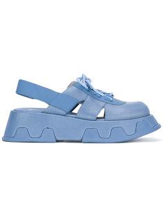 сандалии на платформе Camper