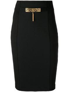 декорированная юбка-карандаш Cavalli Class