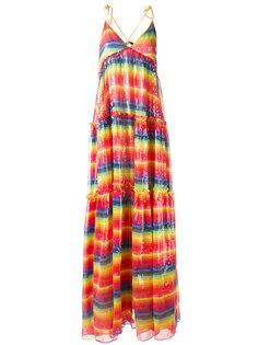 платье с радужной отделкой пайетками Daizy Shely