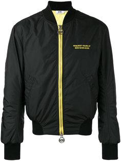куртка-бомбер с вышивкой Taxi Gcds