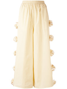 embellished roses cropped trousers Ports 1961