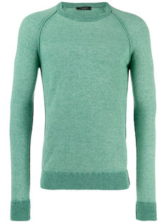 свитер с линялым эффектом Roberto Collina