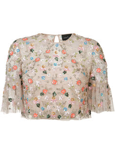 embellished embroidered top Needle & Thread