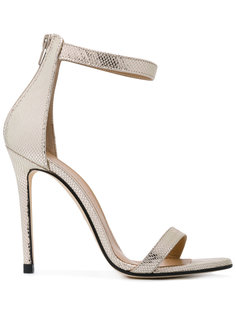 metallic ankle strap sandals Marc Ellis
