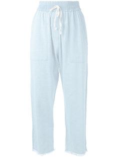джинсовые брюки с эластичным поясом Masscob