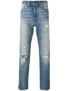 distressed cropped jeans Levis Vintage Clothing