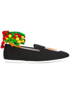 India NY slippers Joshua Sanders