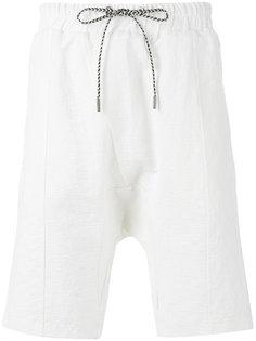 шорты с заниженной проймой Les Benjamins