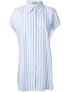 elongated stripe shirt Mikio Sakabe