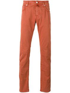 прямые брюки-чинос Jacob Cohen