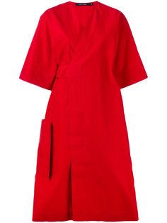 платье из поплина с запахом Sofie Dhoore