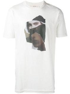 футболка с фото-принтом Damir Doma