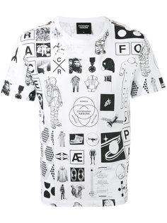manifesto print T-shirt Christopher Raeburn