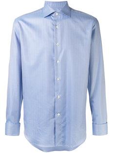 рубашка с узором в елочку Canali