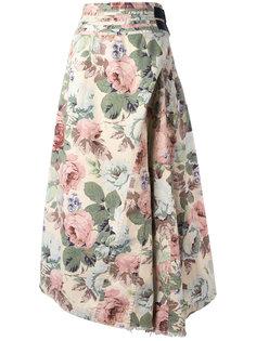 асимметричная юбка Junya Watanabe Comme Des Garçons Vintage