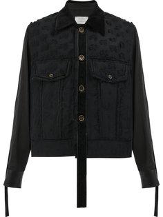 куртка с необработанными деталями Song For The Mute