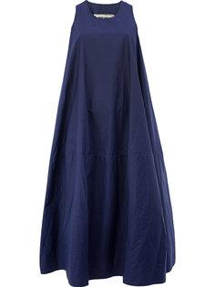 длинное платье без рукавов Uma Wang