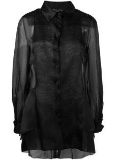 sheer panel blouse  Alberta Ferretti