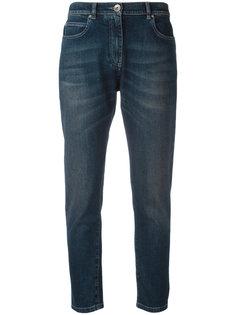 укороченные выбеленные джинсы Eleventy