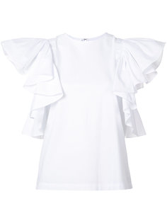 frill sleeve top Co