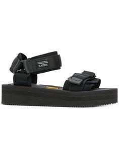 сандалии на платформе Suicoke