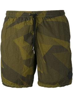 camouflage swim shorts Hydrogen