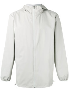 hooded zip up jacket Rains