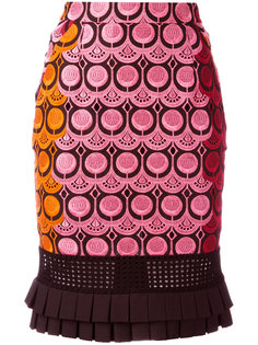 embroidered skirt Capucci