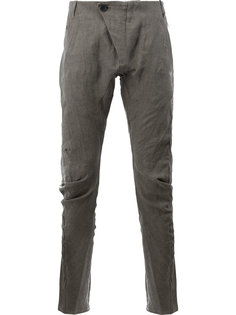 зауженные повседневные брюки Masnada
