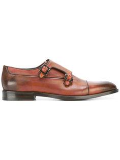 классические туфли монки Canali