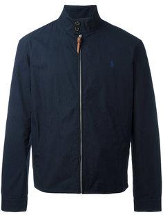 куртка на молнии с отделкой на воротнике  Polo Ralph Lauren