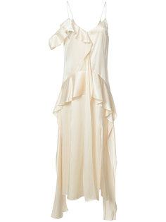 платье с рюшами Jonathan Simkhai