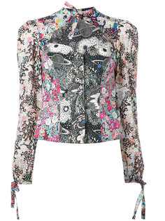 Liberty print blouse Olympia Le-Tan