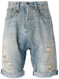 ripped denim shorts R13