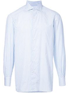 pastel striped shirt Isaia