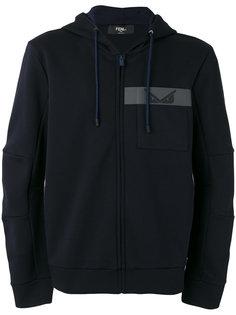 zip-up hoodie Fendi