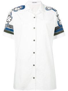 рубашка с короткими рукавами и цветочным принтом Tomas Maier