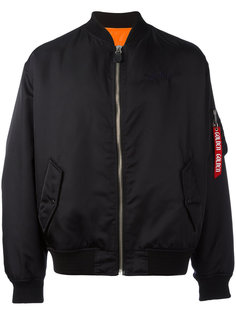 куртка-бомбер на молнии Golden Goose Deluxe Brand
