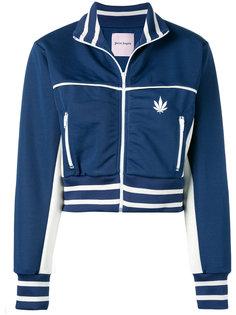 укороченная спортивная куртка  Palm Angels