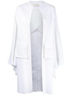 однобортное пальто Elaidi