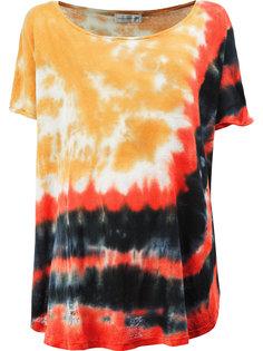 "футболка с принтом ""тай-дай"" Faith Connexion"