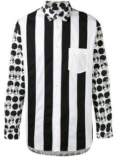 рубашка в полоску Comme Des Garçons Shirt