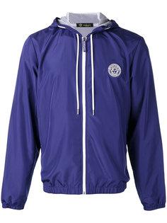 logo zip hoodie Versace