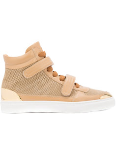 double strap hi-top sneakers  Louis Leeman