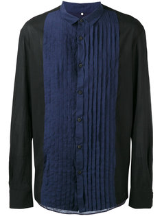 pleated bib shirt Ziggy Chen